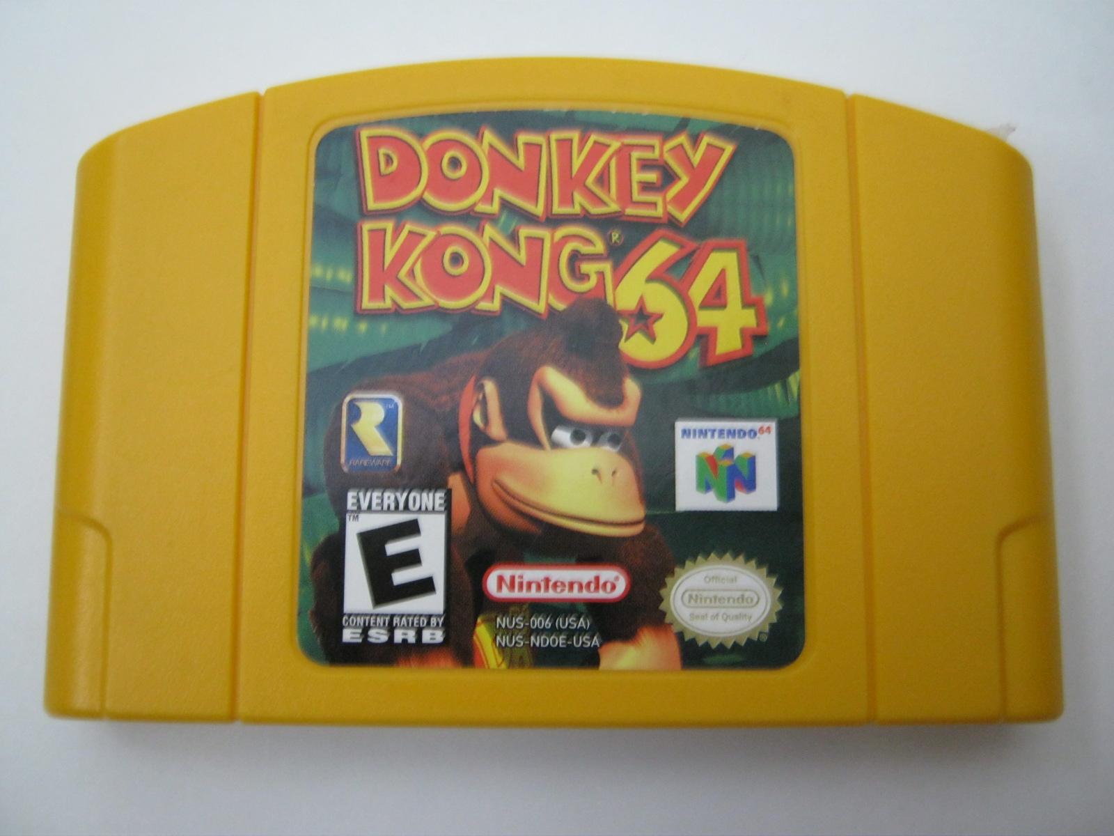 yellow donkey kong 64