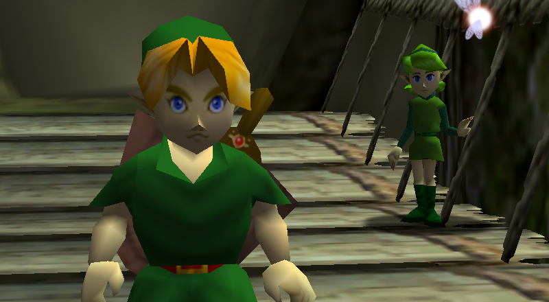 ocarina of time how to break crates