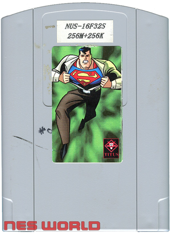Superman 64 Prototype Cartridge